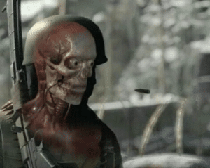 X-ray Sniper Shot Gun meme template