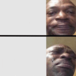 Crying Black Guy Drake Meme Black Twitter meme template blank Drake Meme