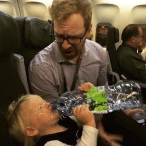 Baby Drinking Water Food meme template