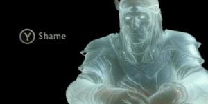 Press Y to Shame Gaming meme template