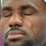 Crying Lebron Black Twitter meme template blank Crying Jordan, Lebron James