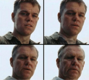 Private Ryan Getting Old Getting meme template