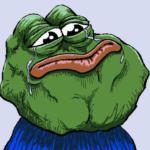 Sad Pepe Forever Alone  meme template blank frog, alone