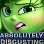 Disgust 'Absolutely disgusting'  meme template blank Absolutely Disgusting