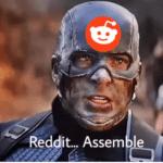 Captain America Reddit Assemble  meme template blank Marvel Avengers