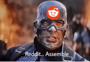 Captain America Reddit Assemble Avengers meme template