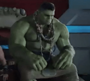 Hulk Sad Avengers meme template