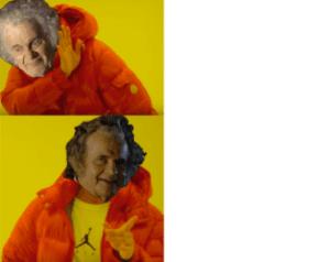 Bilbo Baggins Drake Meme LOTR meme template