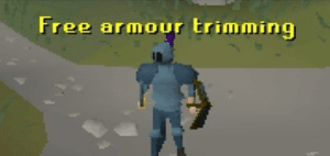 Free Armor Trimming Gaming meme template