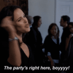 The Party's Right Here Boi  meme template blank Brooklyn 99