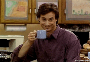 Danny Tanner with Coffe Opinion meme template