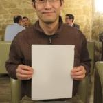 Asian Man Holding Sign  meme template blank