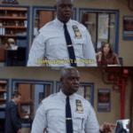 Being gay isn't a choice, it's a game and I'm winning  meme template blank Brooklyn 99, Captain Holt