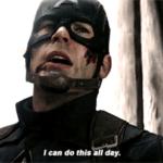 Captain America 'I can do this all day'  meme template blank Marvel Avengers