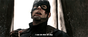 Captain America 'I can do this all day' Avengers meme template