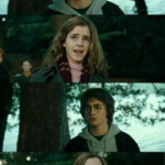 Shocked Hermione  meme template blank Harry Potter, vertical