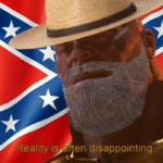 Confederate Thanos Reality is often disappointing  meme template blank