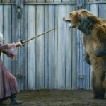 Brienne vs. Bear Game of Thrones meme template