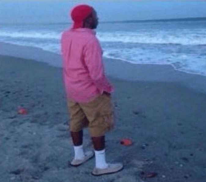 Meme Generator Black Guy Standing At Beach Newfa Stuff