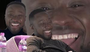 Laughing Black Man Black Twitter meme template
