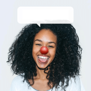 Black woman clown Clown meme template