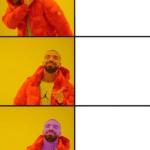 Thanos Drake Meme Infinity Gauntlet  meme template blank Thanos, Marvel Avengers, Drake Meme