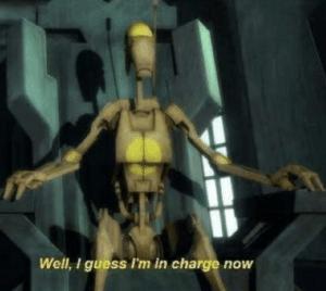 """Droid """"I guess I"""