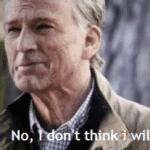 Captain America 'No I don't think I will'  meme template blank Marvel Avengers, Captain America