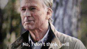 Captain America 'No I don't think I will' Avengers meme template
