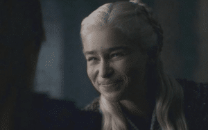 Daenerys Squinting Game of Thrones meme template