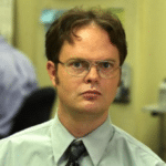 Dwight false (blank template)  meme template blank Classic, The Office