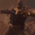 Thanos Angry / Yelling  meme template blank Marvel Avengers