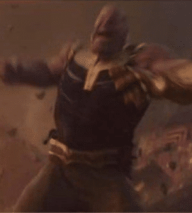 Thanos Angry / Yelling Avengers meme template