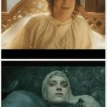 Frodo happy then sad  meme template blank lotr