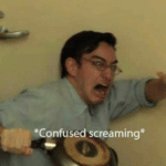 Filthy Frank Confused Screaming  meme template blank YouTube