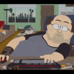 South Park Fat Nerd at Computer  meme template blank World of Warcraft, WoW, Incel, alone