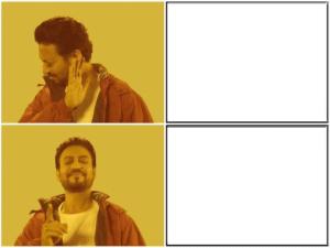 Indian Drake Meme Opinion meme template
