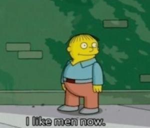 Ralph 'I like men now' Gay meme template