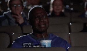 Holt 'It's so beautiful' Brooklyn 99 meme template