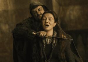 Killing Catelyn Stark Game of Thrones meme template