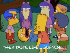 Ralph 'It tastes like burning' Sad meme template
