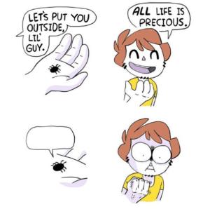 All life is precious comic Opinion meme template
