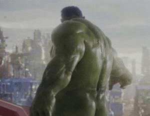 Hulk's butt Avengers meme template