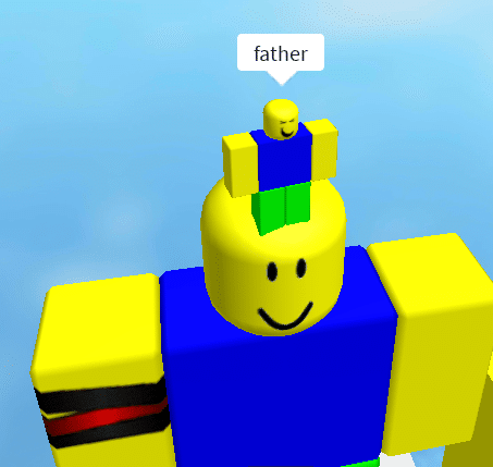 Father Roblox  meme template blank Roblox Go Commit Die Don't talk to me or my son ever again big vs. small