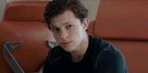Peter Parker sad / worried Sad meme template