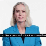 Brie Larson 'is that like a personal attack'  meme template blank Marvel Avengers