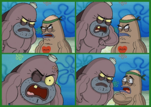 Salty Spitoon (blank template) Angry meme template