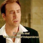 Im gonna steal the declaration of independence  meme template blank