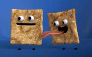 Cinnamon Toast Crunch Licking Food meme template