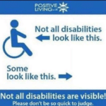 Note all disabilities look like this, some look like this (blank)  meme template blank
